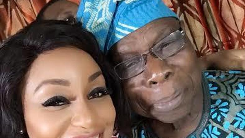 Rita Dominic and Ex-President Olusegun Obasanjo