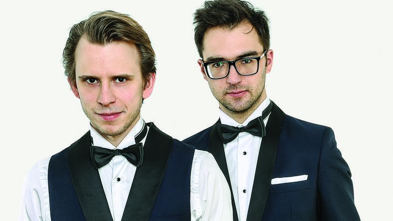Aleksander Dębicz i Marcin Zdunik