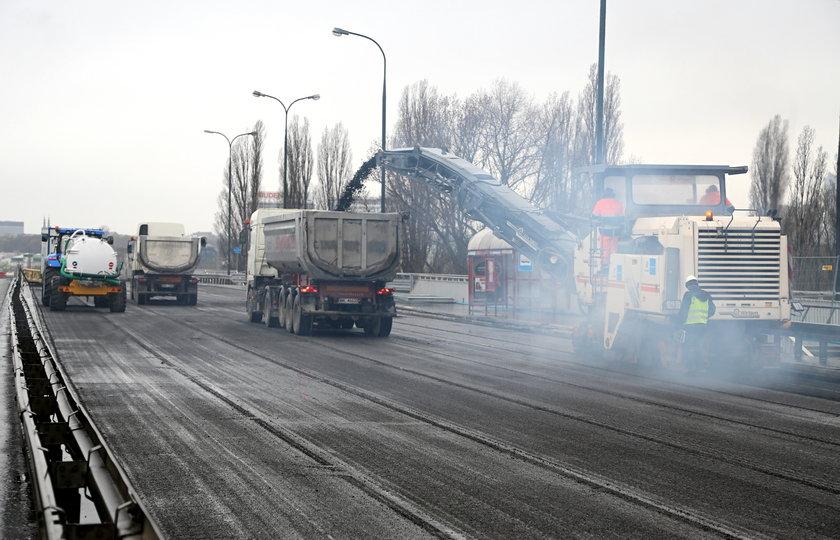 Ruszył remont mostu Łazienkowskiego