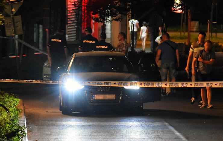 Novi Sad pucnjava izrešetan audi uviđaj policije policija