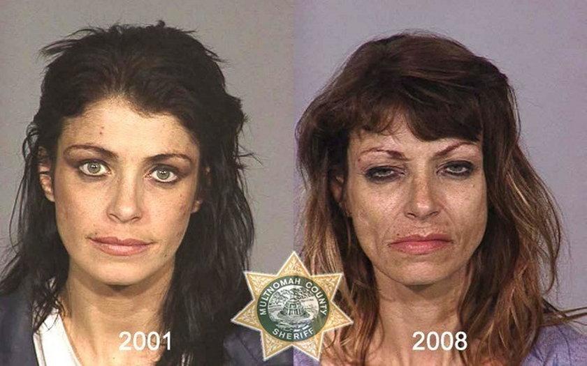 Tak niszczą narkotyki