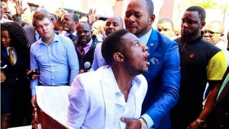 CapturePastor Lukau's church backtracks, says 'resurrected corpse' was already alive