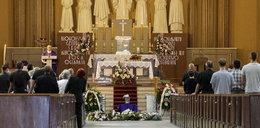 Pogrzeb kierowcy, który zginął w Calais