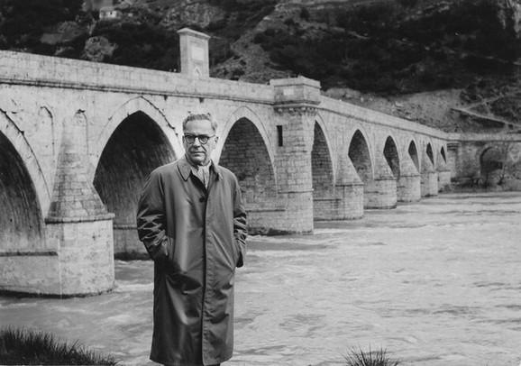 Most na Drini, Ivo Andrić