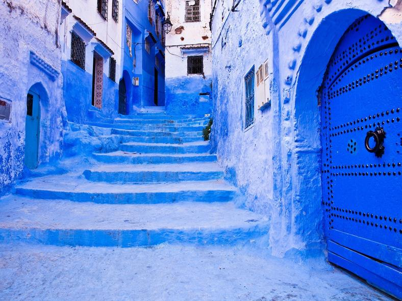 Streets of Marrakech, Morocco