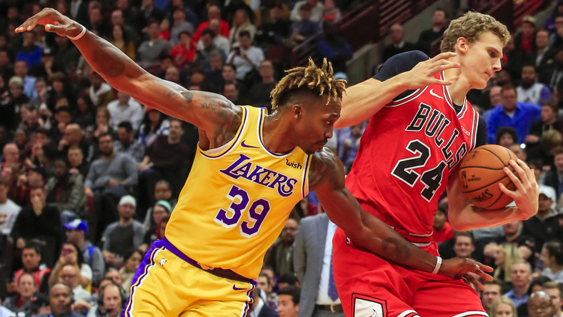 NBA: Los Angeles Lakers pokonali Chicago Bulls