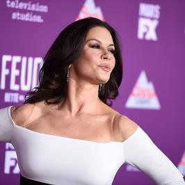 "Catherine Zeta-Jones i Susan Sarandon na premierze serialu ""Feud: Bette and Joan"""
