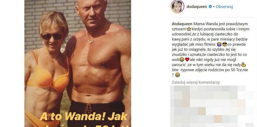 Doda opublikowała zdjęcie mamy w bikini. Ale figura!