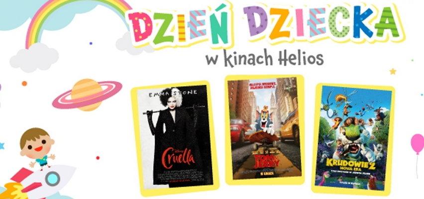 Kino Helios zaprasza na Dzień Dziecka. Jaki seans wybrać?