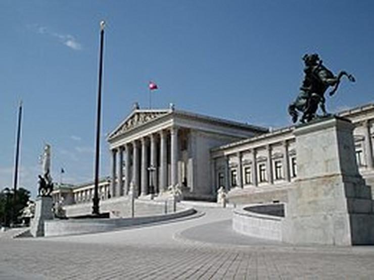 Austrijski parlament, wikipedia