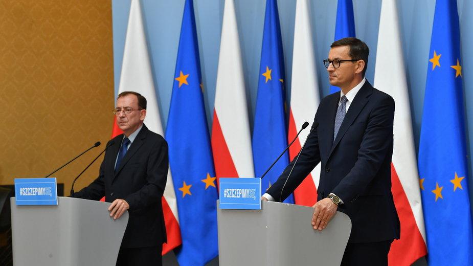 Mateusz Morawiecki i Mariusz Kamiński ogłosili nowy pomysł w walce z cyberprzestępczością