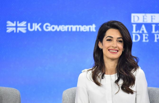 Amal Kluni u Londonu
