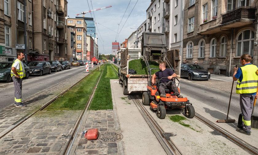 Od soboty tramwaje znów kursują ulicą Wierzbięcice