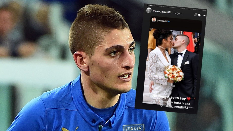 Marco Veratti wziął ślub