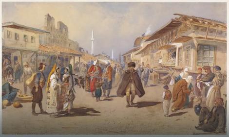 Beograd oko 1865. godine