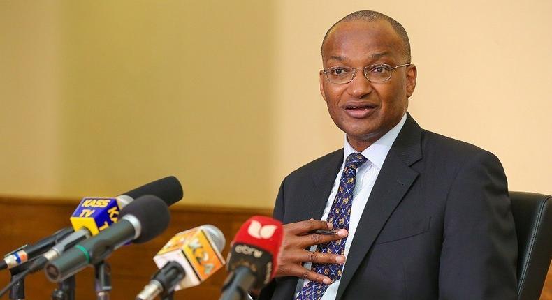 Central Bank of Kenya Governor Patrick Njoroge