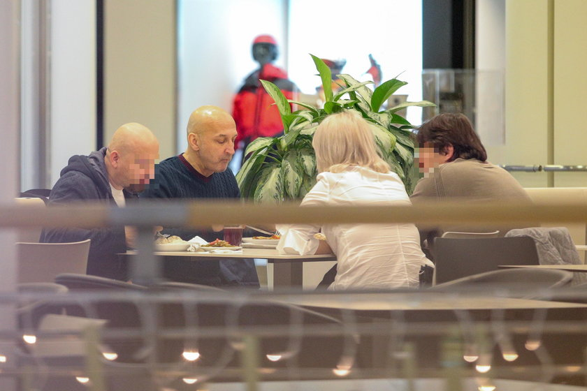 Marcinkiewicz zjadł obiad ze znajomymi