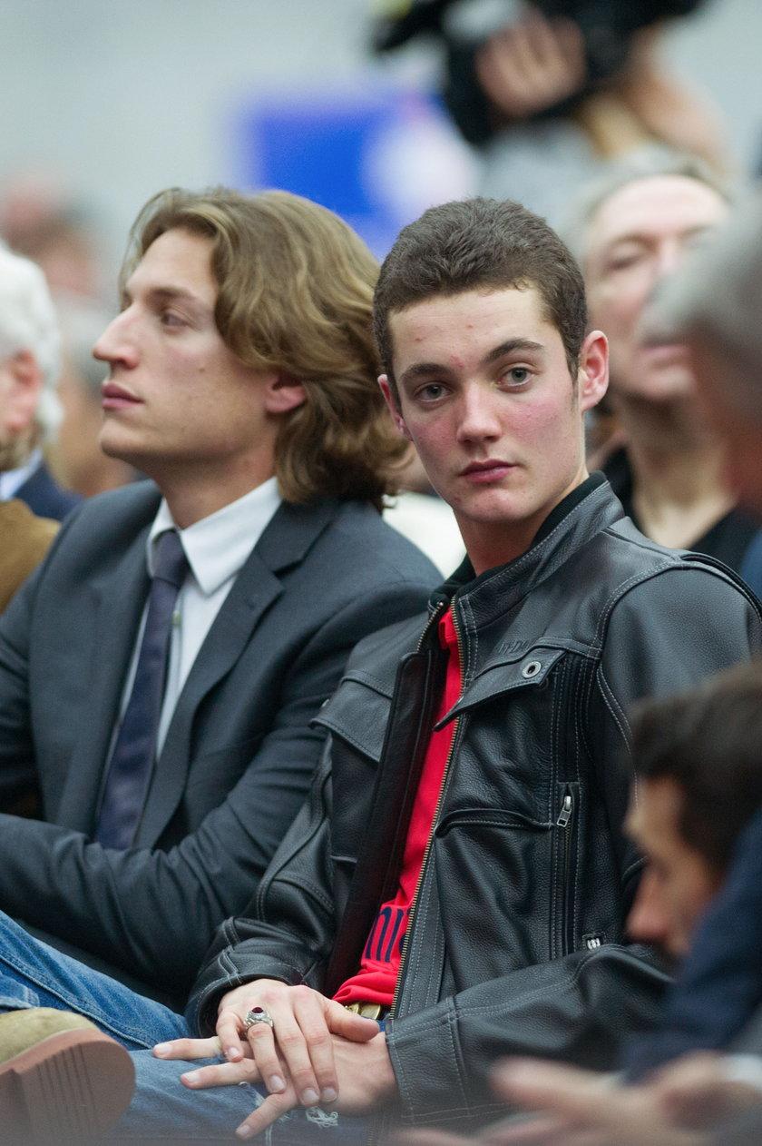 18-letni Louis Sarkozy