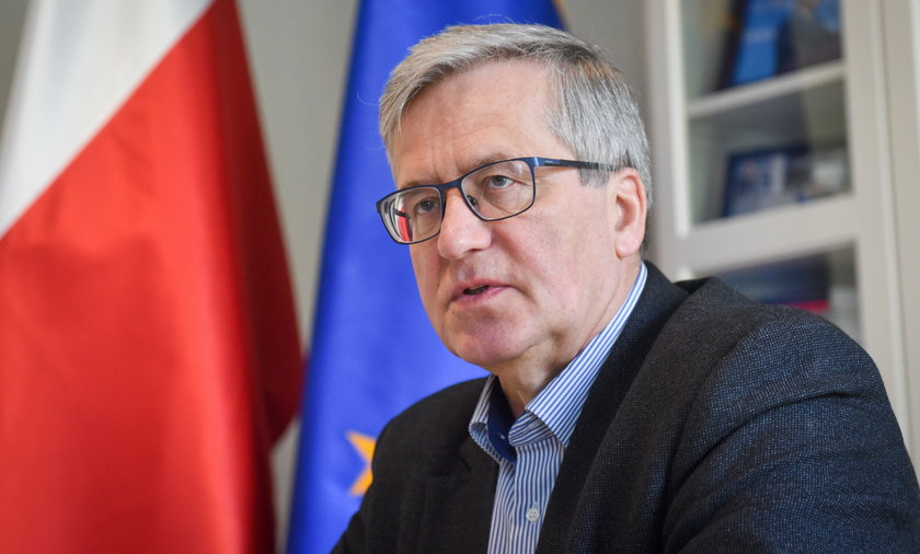 Bronisław Komorowski.