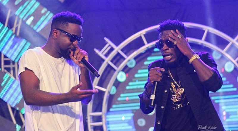 Sarkodie surprised with a Shatta Wale phone call live on radio and they reunited (LISTEN)