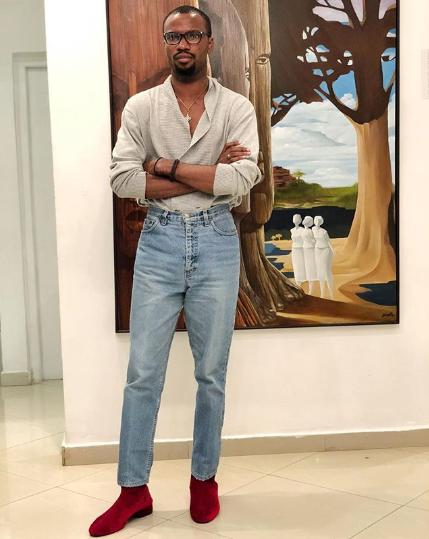 Fashion designer Papa Oyeyemi [Instagram/papaoyeyemi]