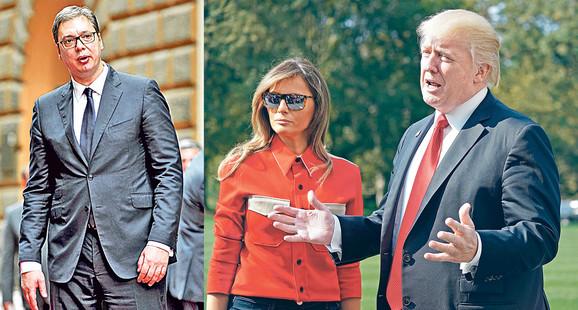 Vučić i Tramp uskoro u Davosu?