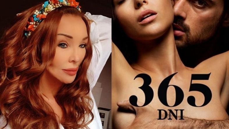 """Ewa Minge, plakat filmu """"365 dni"""""""