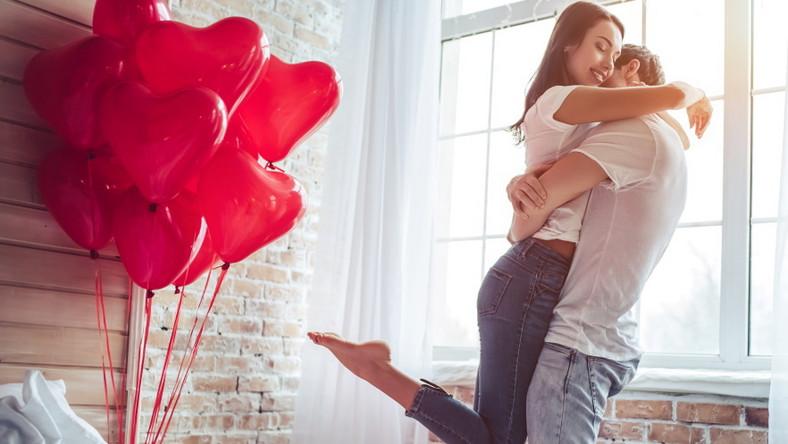 Zakochana para. Walentynki