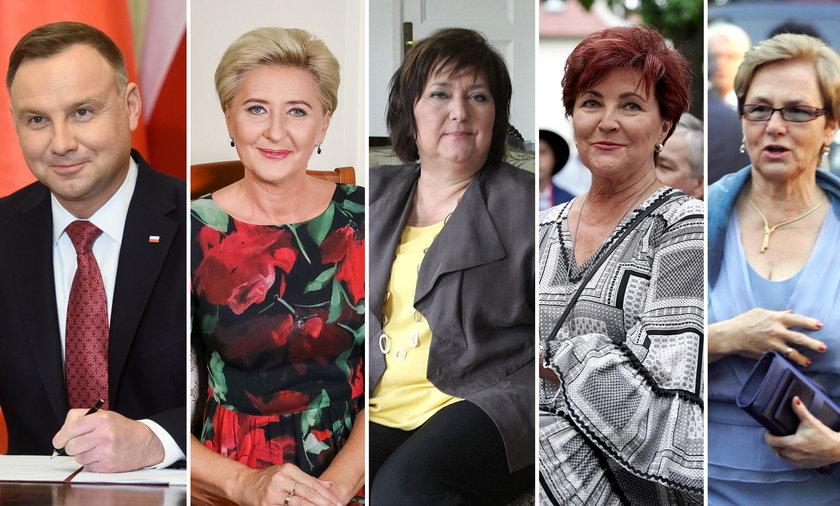 Prezydent i Pierwsze Damy sporo zyskają na zmianach!