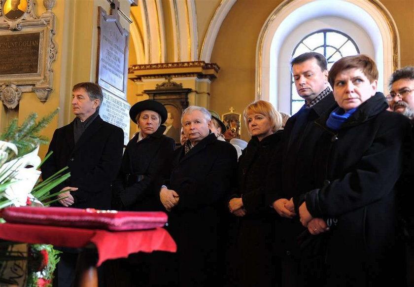 Pogrzeb byłej posłanki PiS. Przyjaciółki Szczypińskiej