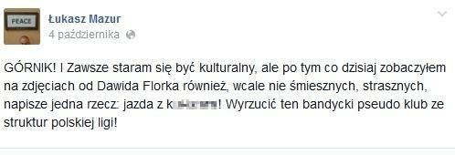Wpis Mazura