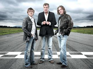 Jeremy Clarkson, James May i Richard Hammond