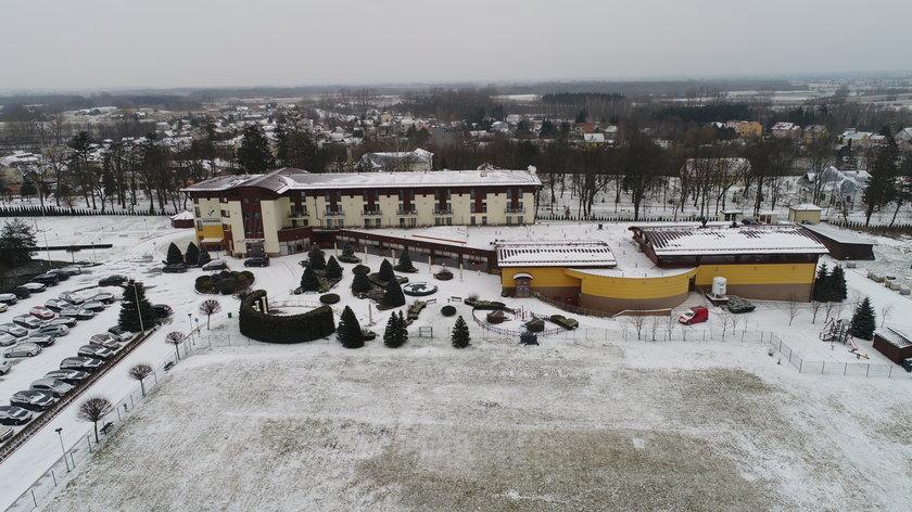 Hotel Malinowy Zdrój w Solcu-Zdroju
