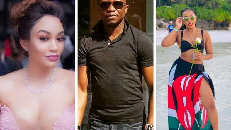 Zari Hassan, Ababu Namwamba and Amber Ray. Celebrities who divorced in 2018 (Courtesy)