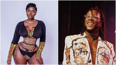 Actress Princess Shyngle congratulates Burna Boy on his Grammy win, shares throwback video of when they were dating