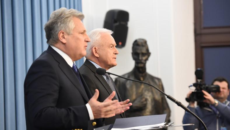 Aleksander Kwaśniewski, Leszek Miller