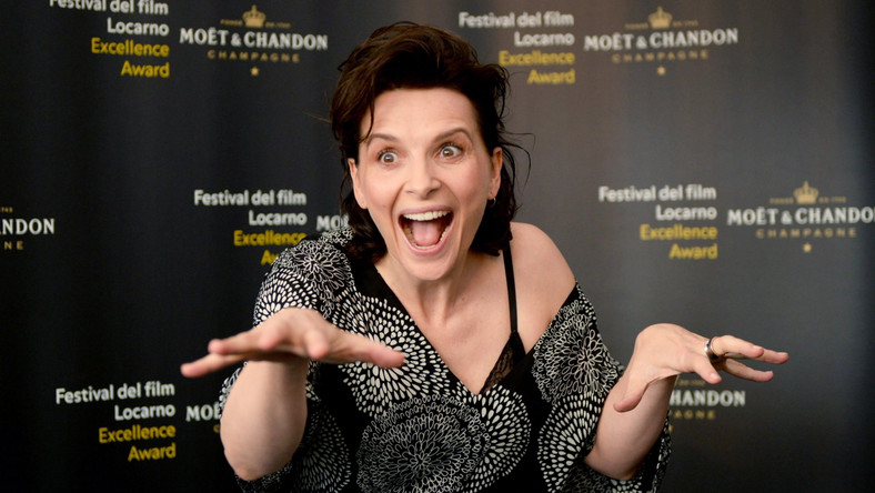 Juliette Binoche gwiazdą festiwalu w Locarno (15 sierpnia 2014)