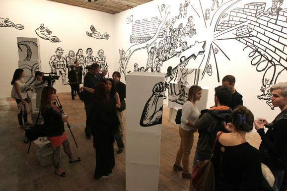 Oktobarski salon privukao je posebnu pažnju međunarodne umetničke zajednice