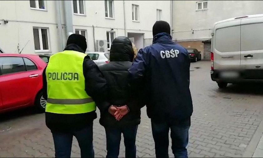 12 osób zatrzymanych przez CBŚP. Wśród nich prezesi i członkowie zarządów