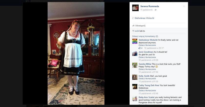 Stefonknee Wolschtt urządza sobie sesja fotograficzne
