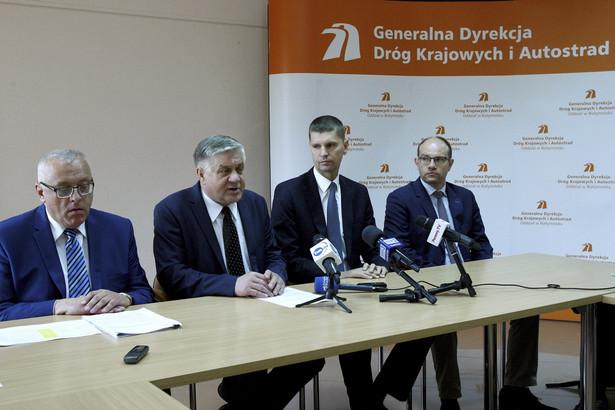 Konferencja prasowa nt. finansowania Via Carpatia