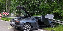 Kierowca Lamborghini spowodował straszny wypadek!
