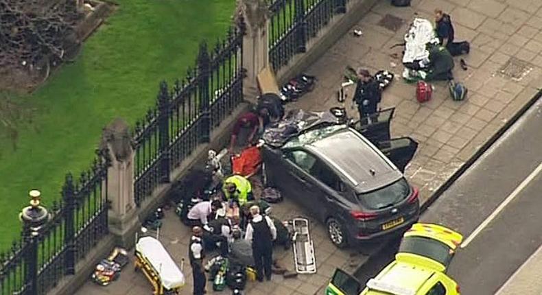 British Parliament Attack