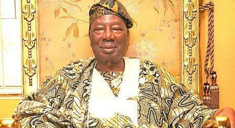 Oba Oladunni Ajagungbade III, the Soun of Ogbomoso. [newspeakonline]