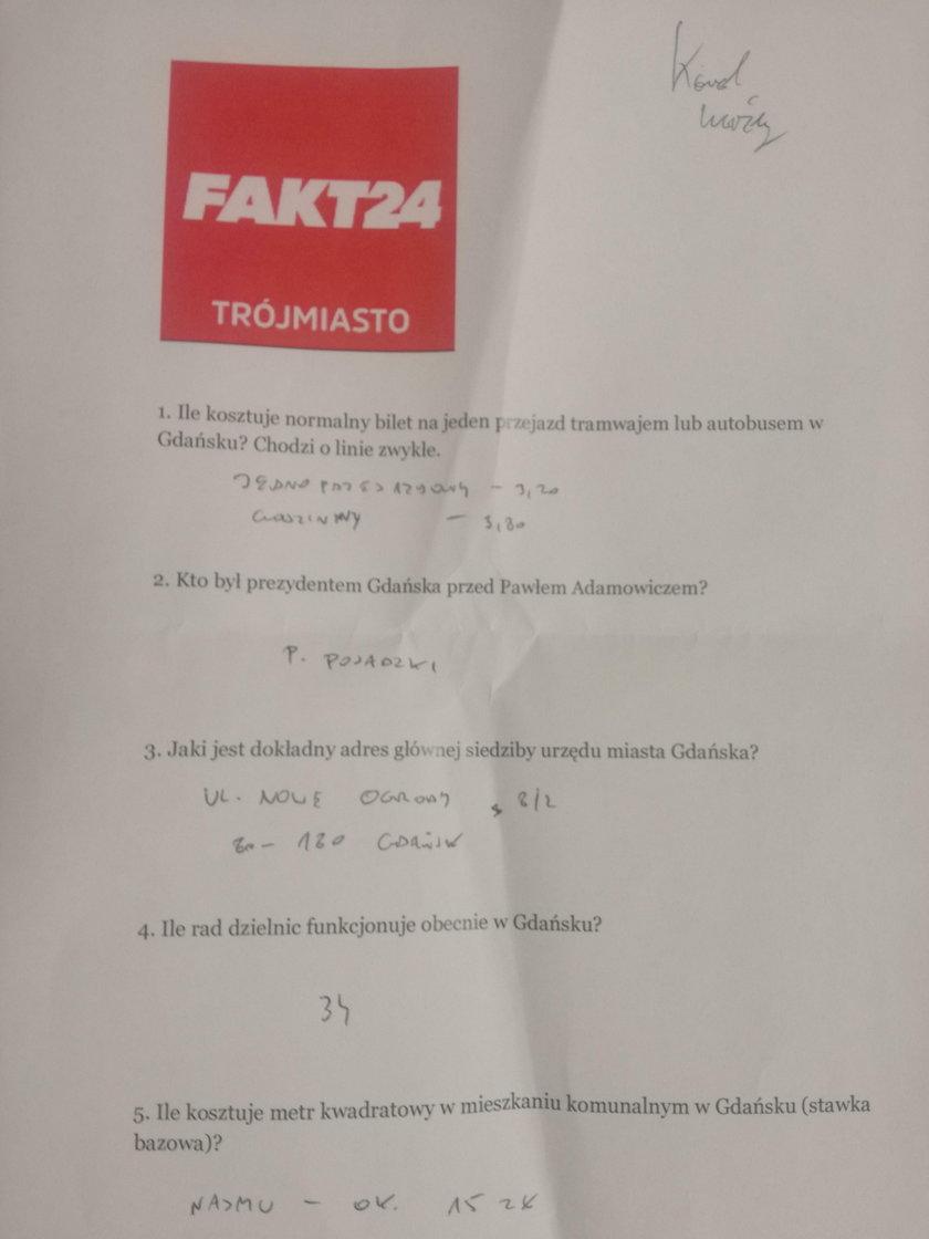 test Faktu