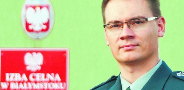 Maciej Czarnecki, rzecznik prasowy Izby Celnej w Białymstoku