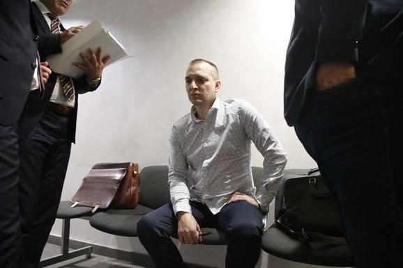Zoran Marjanović u sudu