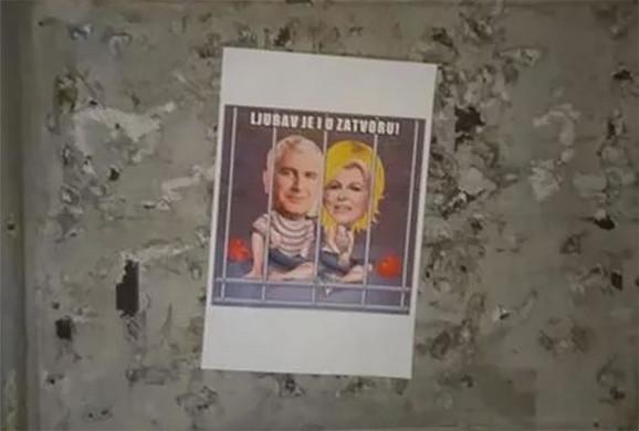 Plakati protiv Kolinde