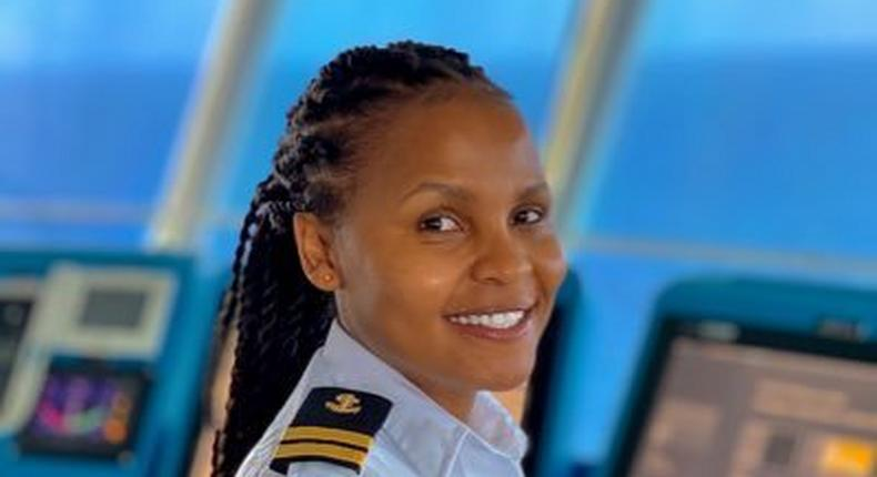 Elizabeth Marami is not only the first Kenyan but also the first East African female marine pilot.