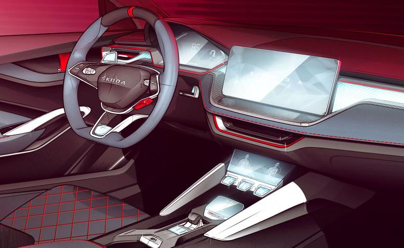 Szkło kryształowe, włókno węglowe i nawiązania do sportów motorowych – na takie atrakcje można liczyć zaglądając do kabiny Vision RS